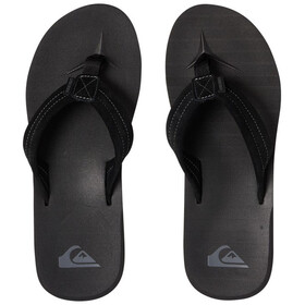Quiksilver Carver Suede Men Sandals solid black
